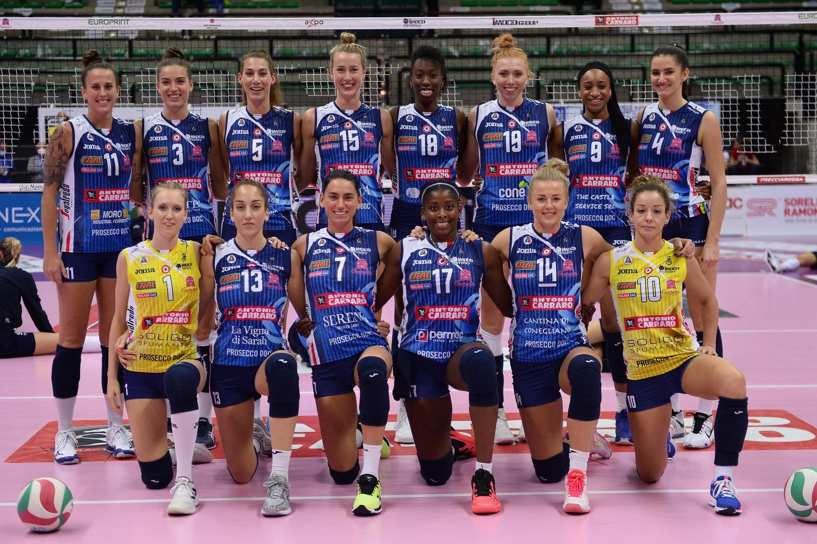 Imoco Volley Conegliano e La Linea Massetti: una squadra vincente!